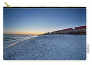 Sunset At The Beach In Florida Carry-all Pouch
