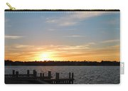 Sunset At The Causeway Carry-all Pouch