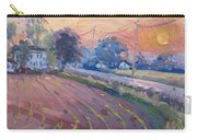 Sunset At The Farm Carry-all Pouch