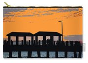 Sunset At The Fishing Pier Carry-all Pouch