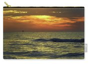 Sunset At The Gulf Carry-all Pouch