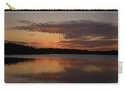 Sunset At The Gulf Of Bothnia 4 Carry-all Pouch