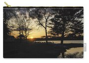 Sunset At The Lake Carry-all Pouch