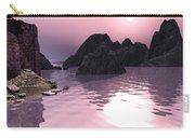 Sunset At The Ocean Carry-all Pouch