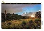 Sunset At The Old Divide Carry-all Pouch