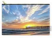 Sunset At The Pismo Beach Pier Carry-all Pouch