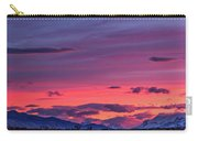 Sunset At The Ranch #2 - Patagonia Carry-all Pouch