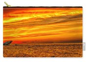 Sunset At The Ss Atlantus - Pano Carry-all Pouch