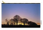 Sunset At Turlough Carry-all Pouch