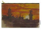 Sunset At Twin Lights Carry-all Pouch