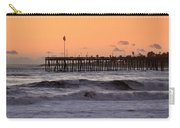 Sunset At Ventura Pier Carry-all Pouch