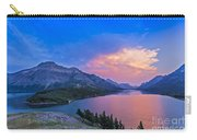 Sunset At Waterton Lakes National Park Carry-all Pouch