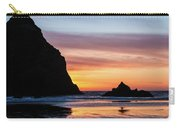 Sunset At Whalehead Beach Carry-all Pouch