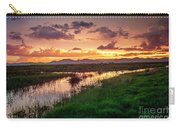 Sunset At Whitewater Draw Carry-all Pouch