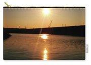 Sunset At Wolf Creek Dam Carry-all Pouch