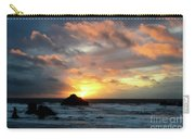 Sunset Bandon By The Sea Carry-all Pouch