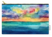 Sunset Beach Carry-all Pouch