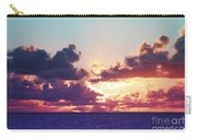 Sunset Behind Clouds Carry-all Pouch