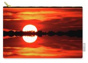 Sunset Behind The Trees At Kempenfelt Bay Two  Carry-all Pouch