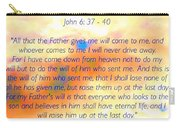 Sunset Bible Verse Carry-all Pouch