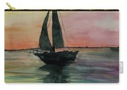 Sunset Boat 1 Carry-all Pouch