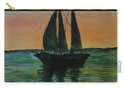 Sunset Boat 2 Carry-all Pouch