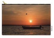 Sunset Boat Lavallette Nj Carry-all Pouch