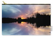 Sunset Brushstrokes Carry-all Pouch