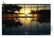 Sunset By The Pool Carry-all Pouch