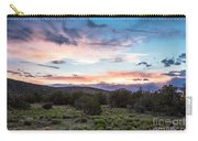 Sunset Cerillos Carry-all Pouch