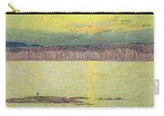 Sunset Carry-all Pouch by Childe Hassam