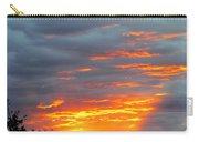 Sunset Christchurch New Zealand Carry-all Pouch
