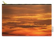 Sunset Clouds On Fire Carry-all Pouch