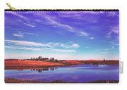 Sunset Clouds Over Wyoming Carry-all Pouch