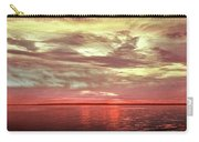 Sunset Colors On The Bay Carry-all Pouch