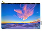 Sunset Colors Over White Sands National Carry-all Pouch