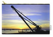 Sunset Crane Carry-all Pouch