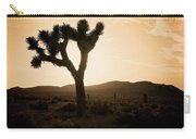Sunset Desert Silhouette  Carry-all Pouch