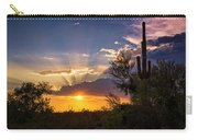 Sunset Done Arizona Style  Carry-all Pouch