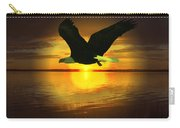 Sunset Eagle Carry-all Pouch