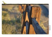 Sunset Fence Carry-all Pouch