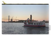 Sunset Ferry In Savannah Carry-all Pouch