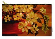 Sunset Floral Carry-all Pouch