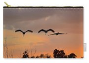 Sunset Fly Over Carry-all Pouch