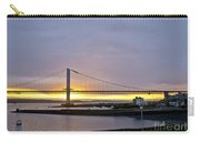 Sunset. Forth Road Bridge. Carry-all Pouch