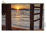 Sunset From Beneath The Pier Carry-all Pouch