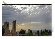 Sunset From San Gimignano Carry-all Pouch