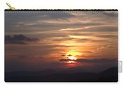 Sunset From The Blue Ridge Parkway Ll Carry-all Pouch
