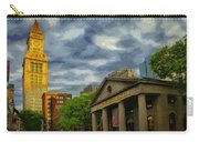 Sunset Gleam Of Custom House Tower Carry-all Pouch