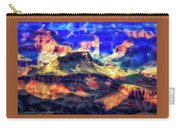 Sunset Glow At Mather Point Carry-all Pouch